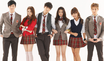"série coréenne ""Dream High 2"" en vostfr"