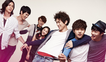 "série coréenne ""Shut Up, Flower Boy Band!"" en vostfr"