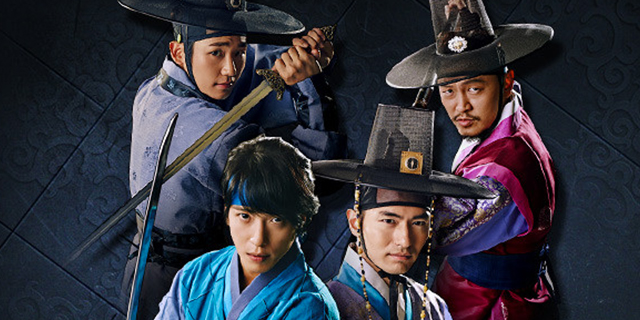 "série coréenne ""The Three Musketeers"" en vostfr"
